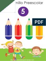 Cuadernillo preescolar 5