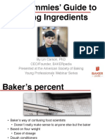 Dummies Guide to Baking Ingredients