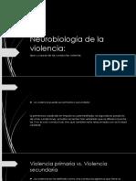 Neurobiología de La Violencia