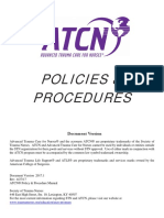 ATCN Policies and Procedures