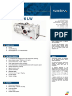 sl75lw-f4 technical detail sheet