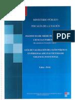 GUIA DE VALORACIÓN DE DAÑO PSIQUICO