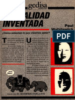 Watzlawick Paul Componentes Realidades Ideologicas Mente Cap Libro 1994