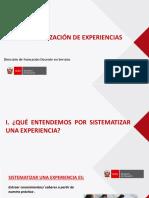 Sistematización DEL AP