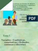 Variables y Datos