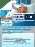 Patología Aguda en el Adulto Mayor
