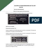 Manual de Instalación de Transformadores i