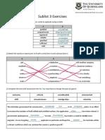 Academic Word List - Sublist 3