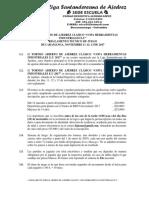 Reglamento Con Calendario y Premios Torneo Herramientas Industriales
