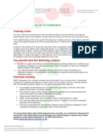 Expenses Guidelines - Training Costs