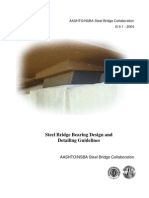 Steel Bridge Bearing Design and Detailing Guidelines - AASHTO