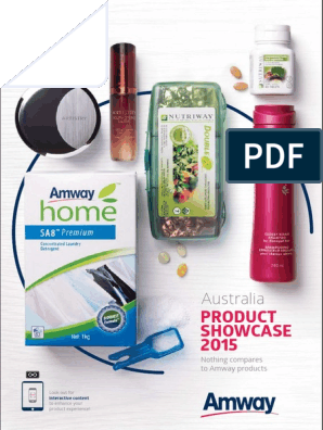 Amway Product Showcase 2015 Magnesium Vitamin