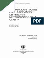 Wmo 266-V2 Compendio Meteorologia Clase IV