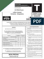 P09 T - Perito Criminal - Farmácia-Bioquímica