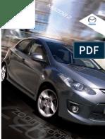 Mazda2 Brochure August 2009
