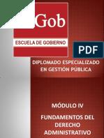 Gestión Pública- Cuarto Módulo