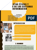 Aspectos Éticos y Sociales de Los Sistemas De los sistemas de informacion