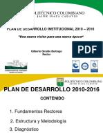 Presentacion Plan Desarrollo