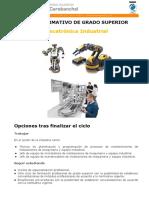 Ficha Ciclo Mecatronica Industrial