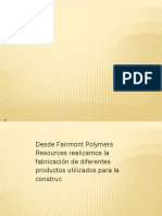 Fairmont Polymers Resources Sl