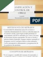 Planificación y Control de Obras