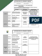 Semana de Desarrollo Institucional 13