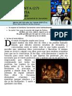 HORA SANTA Con San Pedro Julián Eymard. La Eucaristía, Bien Supremo (27)