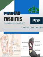 fitria- Plantar Fasciitis