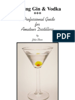 Making Gin & Vodka a Professional Guide for Amateur Distillers