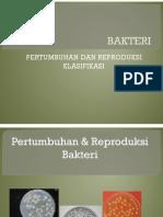 Reproduksi Dan Klasifikasi Bakteri