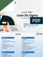 Lean Six Sigma 2017 Sesion 1
