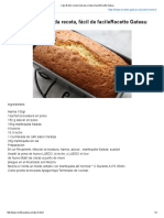 Cake Breton Ilustrada Receta, Fácil de FacileRecette Gateau