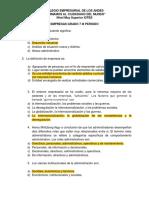 Examen Empresas 7 III Periodo