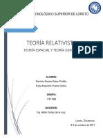 Teorias de Relatividad