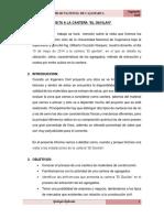 Caracterizacion Geologica Cantera El Gavilan Para Construccion
