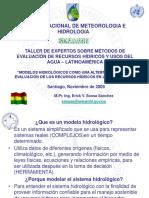 9 Bolivia - Sossa - Modelos Hidrologicos