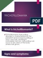 Trichotillamania