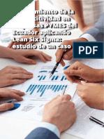 Mejoramiento de la competitvidad en empresas pymes aplicando lean six sigma