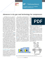 Advances in dry gas seal technology for compressor