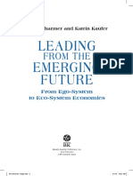 Leading From the Emerging Future From Ego-System to Eco-System Economies
