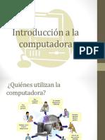 Introducción a La Computadora