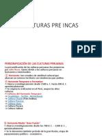 8.- Culturas Pre Incas