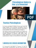 Teorías Psicológicas Sobre La Adultez y La Senectud
