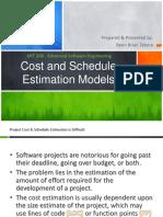 8 Tabora MIT208-CostAndScheduleEstimationModel