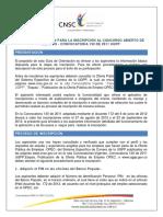 Guia de Inscripcion Convocatoria No.130 de 2011 Ugpp
