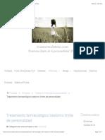 Tratamiento farmacológico trastorno límite de personalidad
