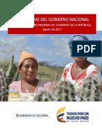 XI Informe Gobierno Nacional Congreso Agosto 2017