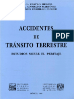 Accidentes de Tránsito Terrestre