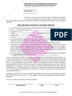 DECEyEC Declaratoria Bajo Protesta