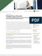 Huawei-Symantec Shanghai Ocean University Case Study